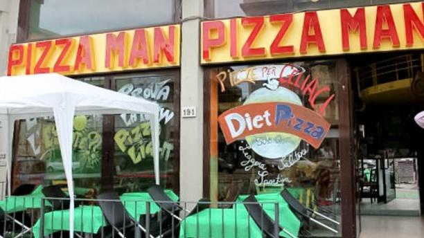 Pizza Man Sansovino entrata