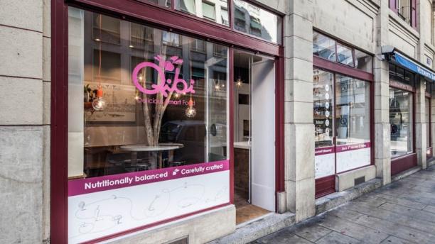 Qibi entrée