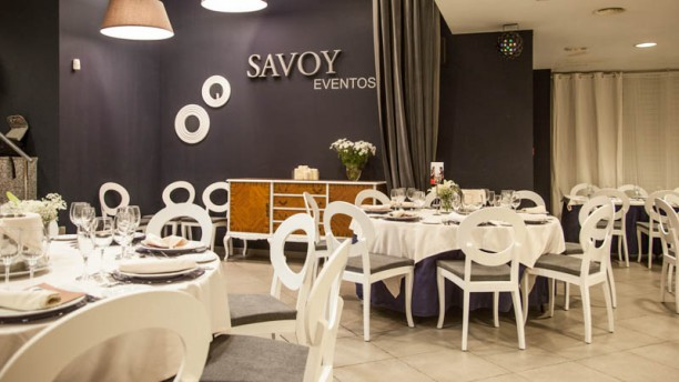 Restaurante Savoy Salón de banquetes