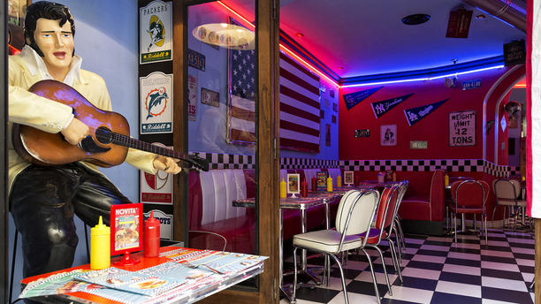 1950 American Diner - Firenze Centro b