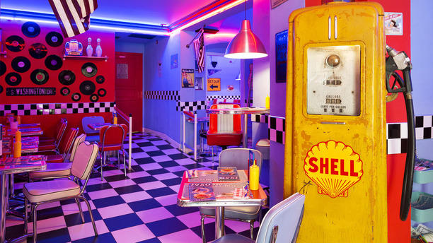... 1950 American Diner - Firenze Centro c ...