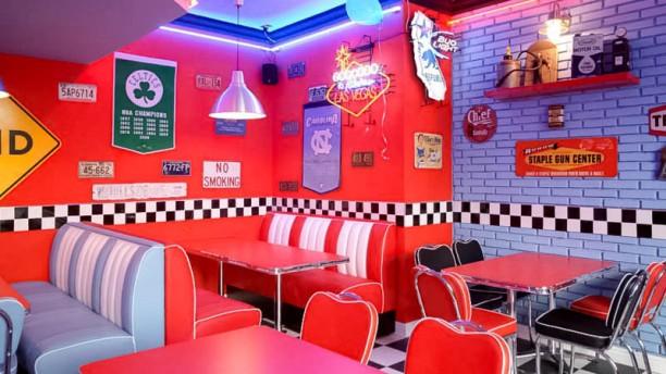 restaurante 1950 american diner figline en figline. Black Bedroom Furniture Sets. Home Design Ideas