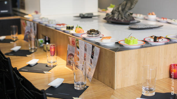 Matsuri victor hugo restaurant 121 avenue victor hugo - Restaurant japonais tapis roulant paris ...