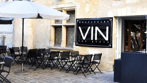 Le Vin Rue Neuve Zoom sur la terrasse