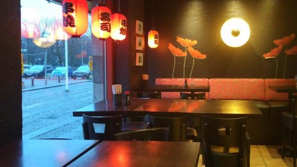Khoki Sushi Restaurangens rum
