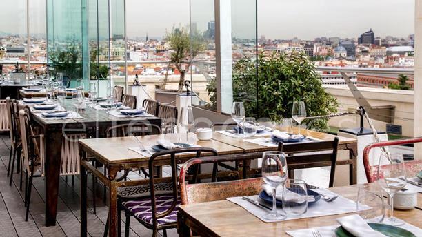Restaurante Azotea Del Círculo En Madrid Museo Thyssen