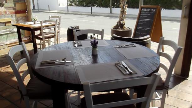 La Vinería Detalle mesa