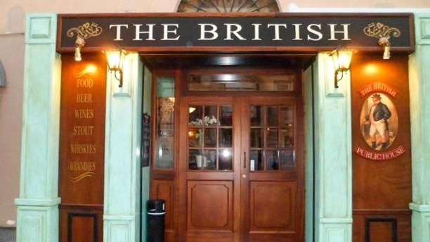 The British Pub Entrata