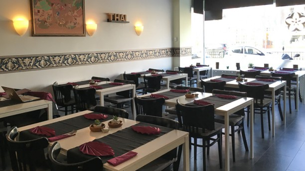 Mali Thai Kitchen Restaurantzaal
