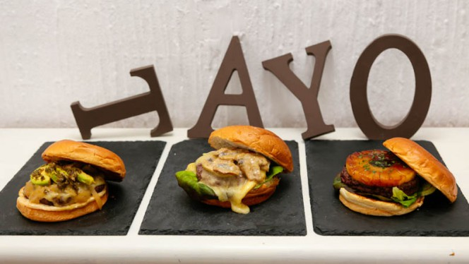 Hamburguesas Fusión - Tayo Fusión Burger, Madrid