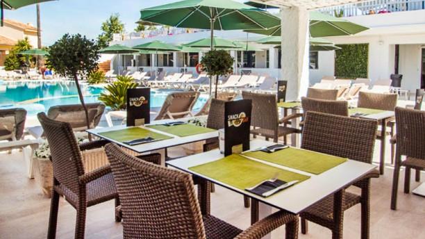 Filigrana Del Mar - Hotel Catalonia del Mar Vista terraza