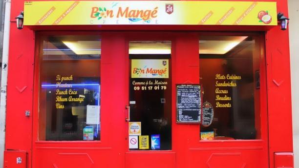 Bon Mangé Créole Façade