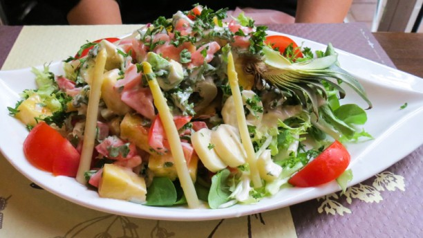 A La Ferme Lucon In Lucon Restaurant Reviews Menu And