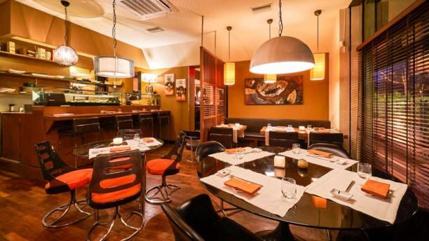 Fooding sushi lounge Vista sala