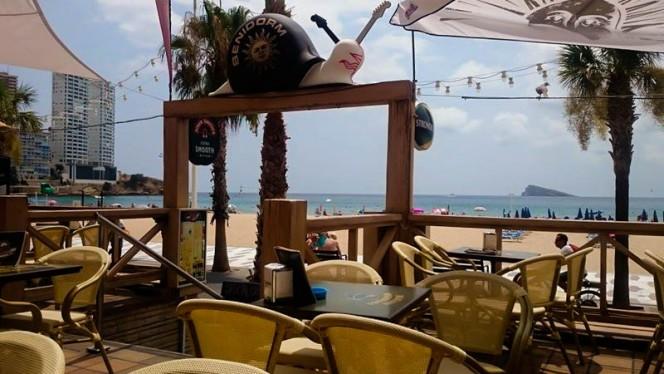 terraza - Sol Beach, Benidorm