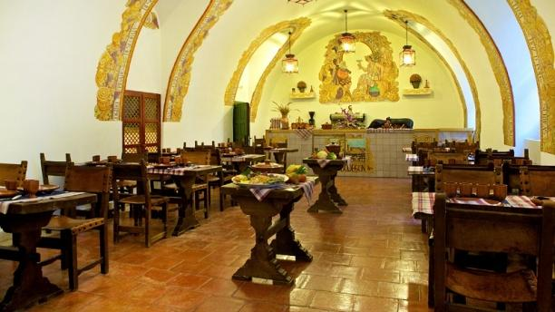 Tamizia - Parador de Chinchón Sala restaurante