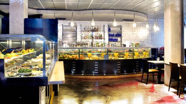 L'Insalata Ricca - Acri Montagnola Sala del ristorante
