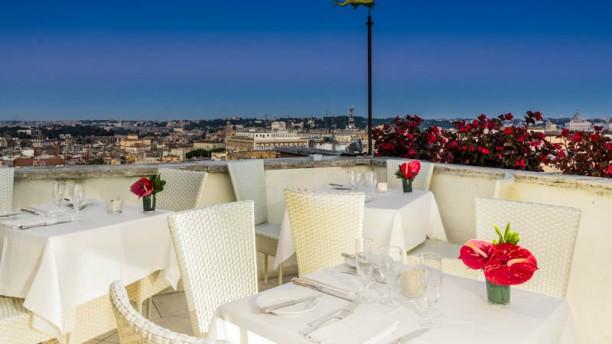 Roof Garden Hotel Mediterraneo A Roma Menu Prezzi
