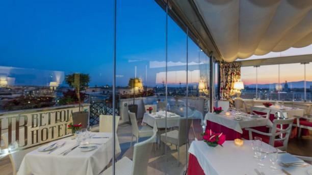 Roof Garden Hotel Mediterraneo In Rome Restaurant