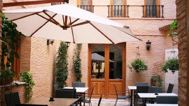 La Huerta - Hotel Babel Vista terraza