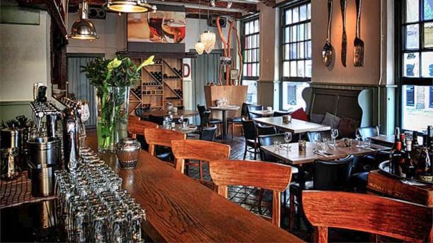 Bistro De 13 Balcken Restaurantzaal