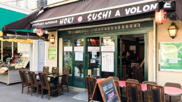 Hoki Sushi Devanture