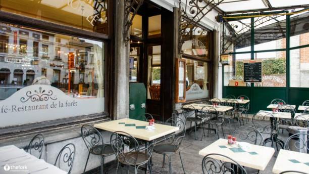 Café Restaurant de la Forêt Terrasse et jardin