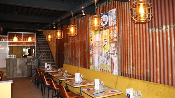 Mian Fan Grand Boulevard Salle du restaurant