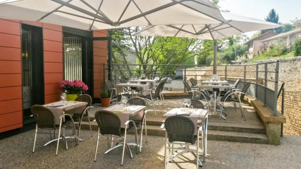 La Table D'Albigny Terrasse