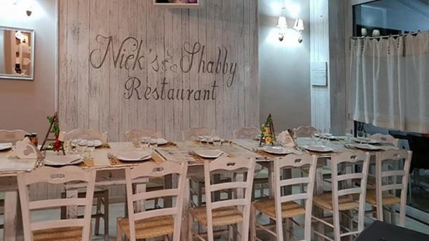 Nick's Shabby Restaurant Vista della sala