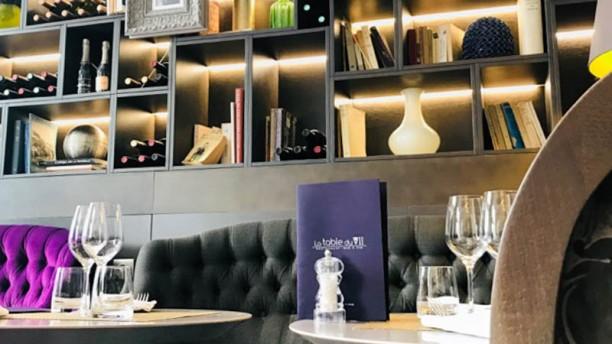La Table du VII Restaurant & Bar à Vin Nice and cosy wine bar