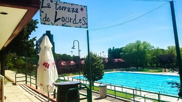 La Terraza de Lourdes Vista terraza