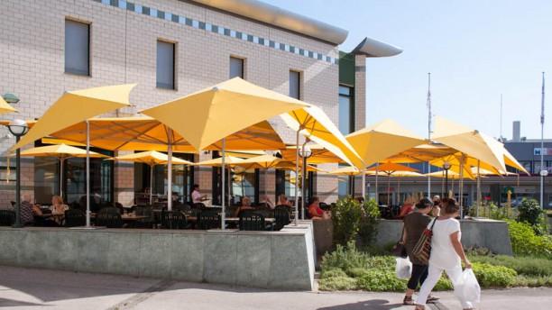 Restaurant du Forum de Meyrin Terrasse
