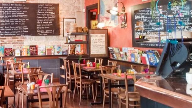 Le Préau Salon du restaurant