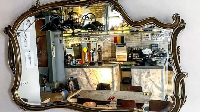 Detalhe de decoração - Café Belga, Lisboa