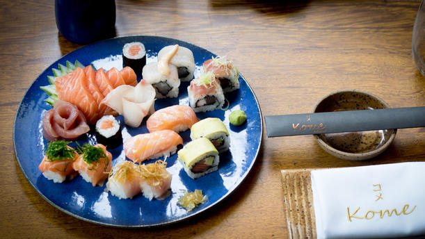 Kome Moema Sushi Nossos pratos