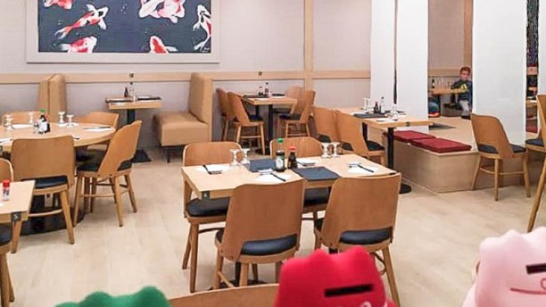 Sushi 7 Vue de la salle