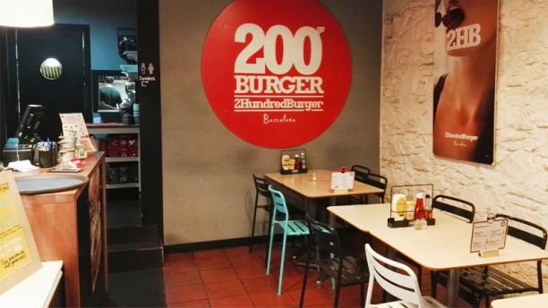 2Hundred Burger Vista sala