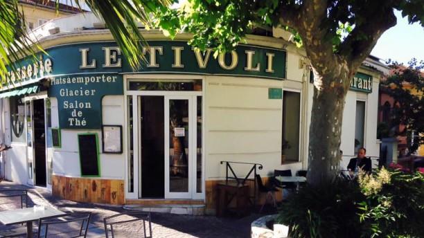 Brasserie Restaurant Bar à vins le Tivoli - Le Cannet Façade du restaurant
