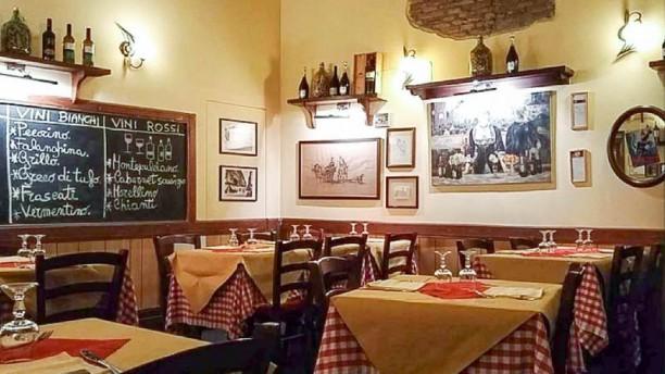 Il Fico di via Monte Giordano Sala del ristorante