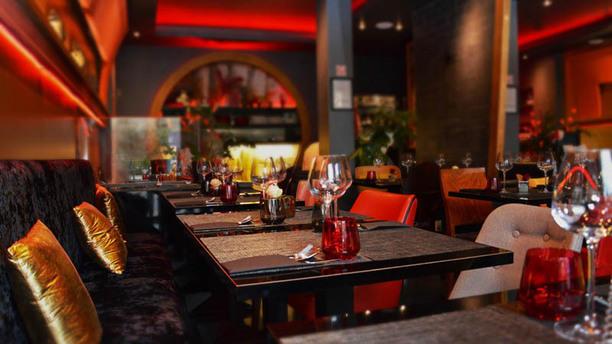 Piment thaï 21 la salle du restaurant