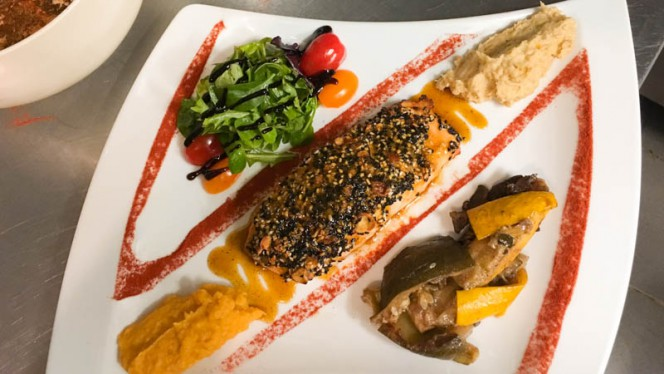 Saumon mangue, timut - Le Gambetta, Aix-en-Provence