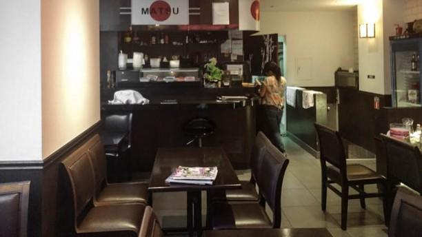 New matsu sushi Vue de la salle