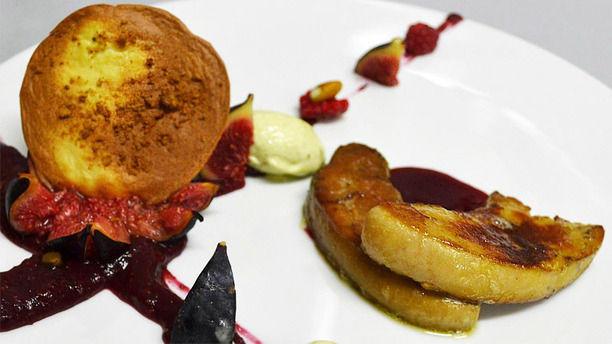Franck Enée Restaurant Paris Dessert pommes et figues