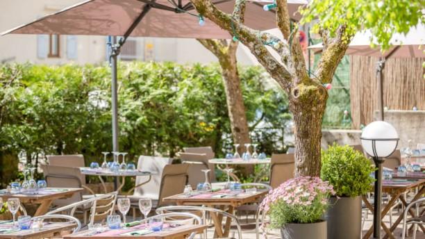 Restaurant la terrasse fleurie divonne les bains 01220 menu avis prix et r servation - Restaurant terrasse jardin grenoble mulhouse ...