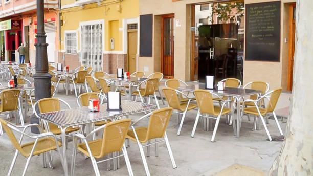 Sidrería Gigia Vista terraza