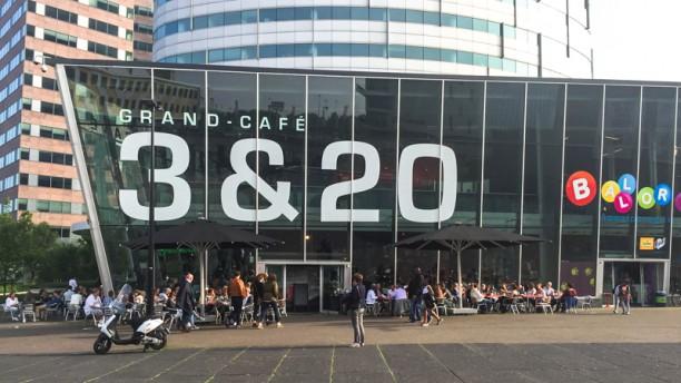 GrandCafé 3&20 Het restaurant