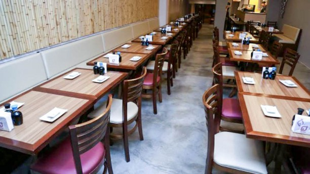 Japa Sushi Vista da sala