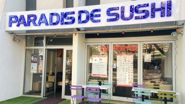 Paradis de Sushi Devanture