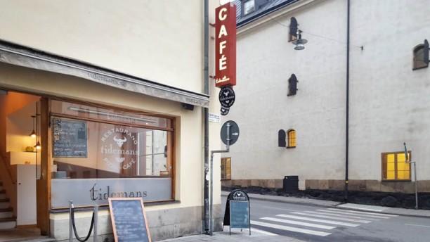 Café Tidemans external view
